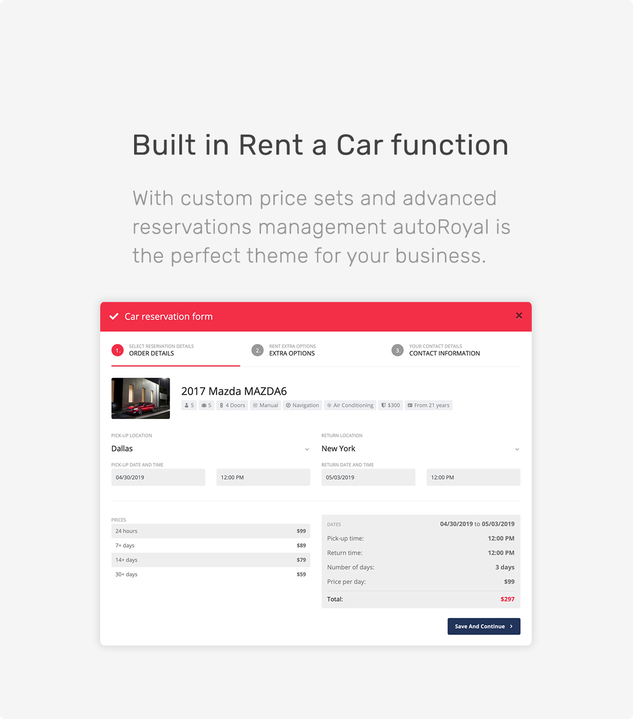 autoRoyal - Automotive WordPress Theme - 9